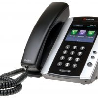 POLYCOM VVX500 MEDIA PHONE - NO PSU *-0
