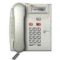 Nortel T7000 Telephone (Platinum)-0