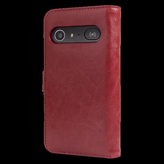 Doro 8040 Red Wallet Case-9969