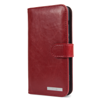 Doro 8040 Red Wallet Case-0