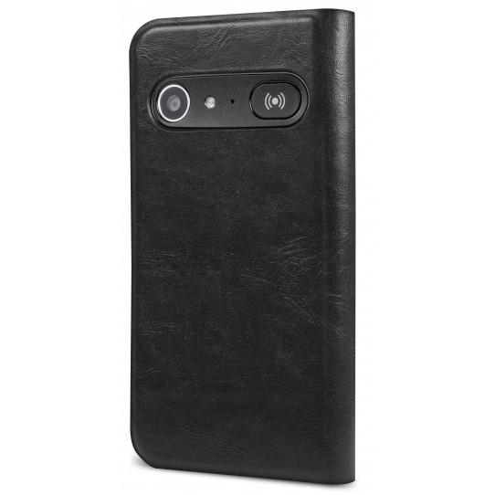 Doro 8040 Black Wallet Case-0