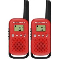 Motorola T42 Twin Red