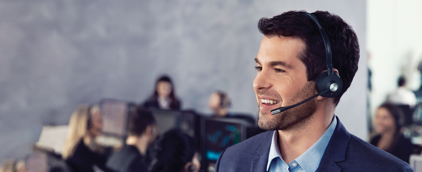Cordless Headset Office Worker