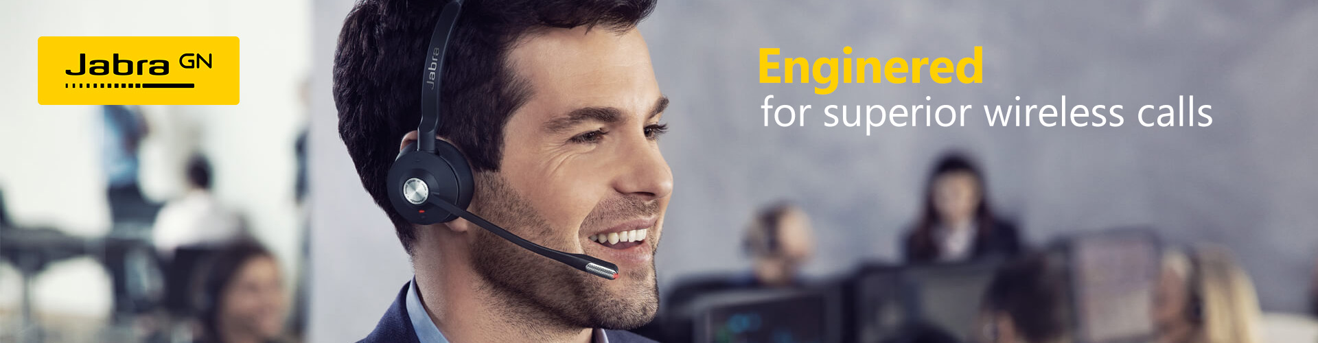 Wireless Headset Category Banner