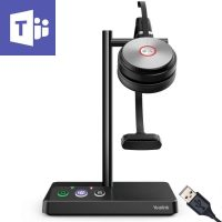 Yealink WH62 Duo Teams Cordless Headset